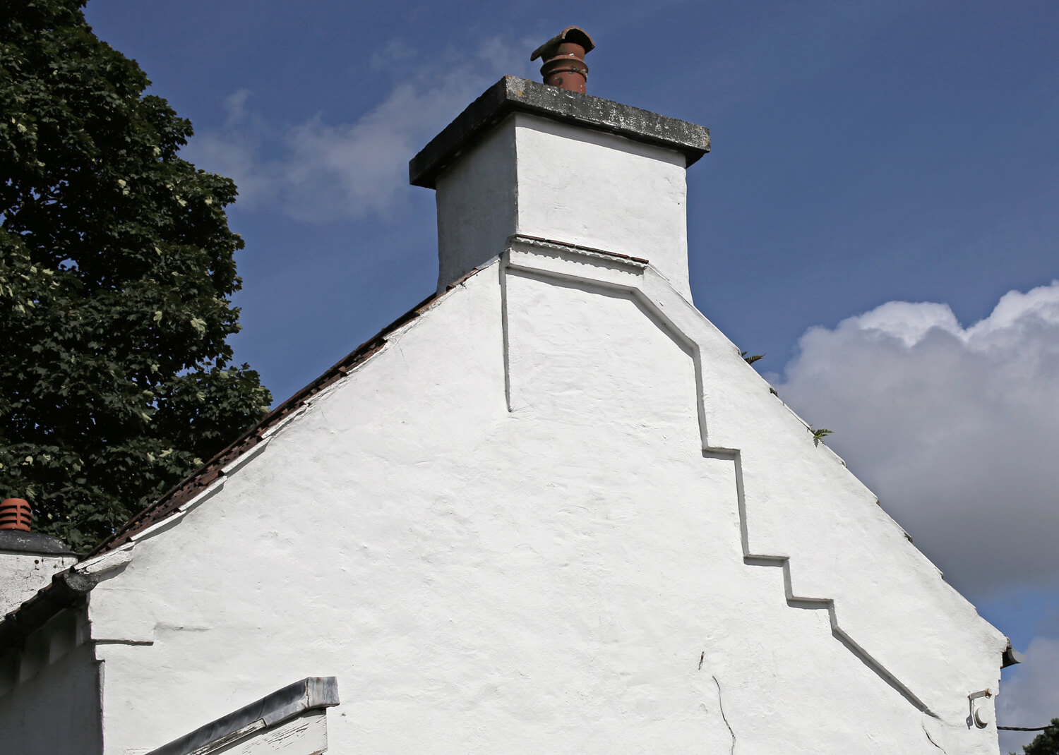 Penrice-Cottage-Oxwich-Welsh-Vernacular-Render-Chimney