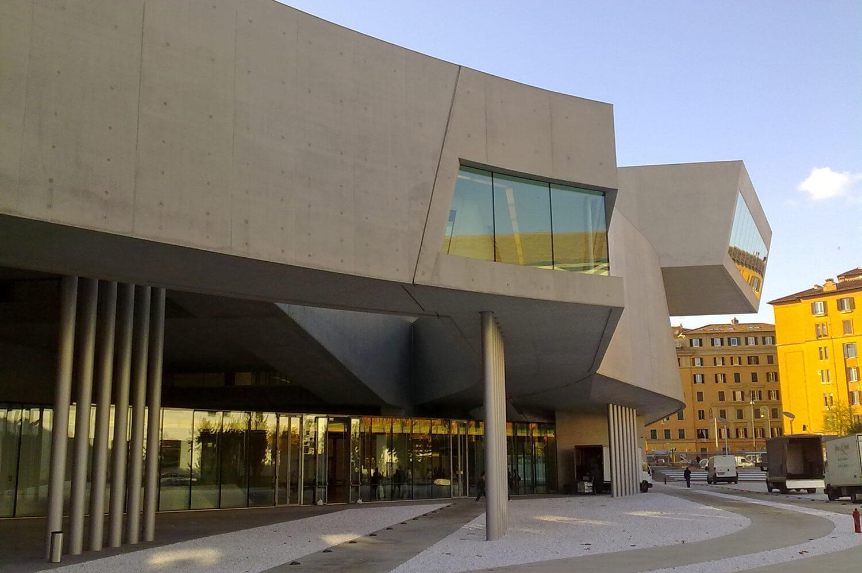 Maxxi Art Centre in Rome - Zaha Hadid Architects, 2008