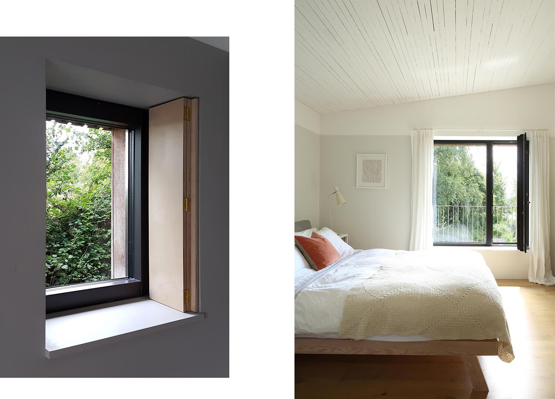 Dundon Passivhaus - Thick walls and deep window reveals