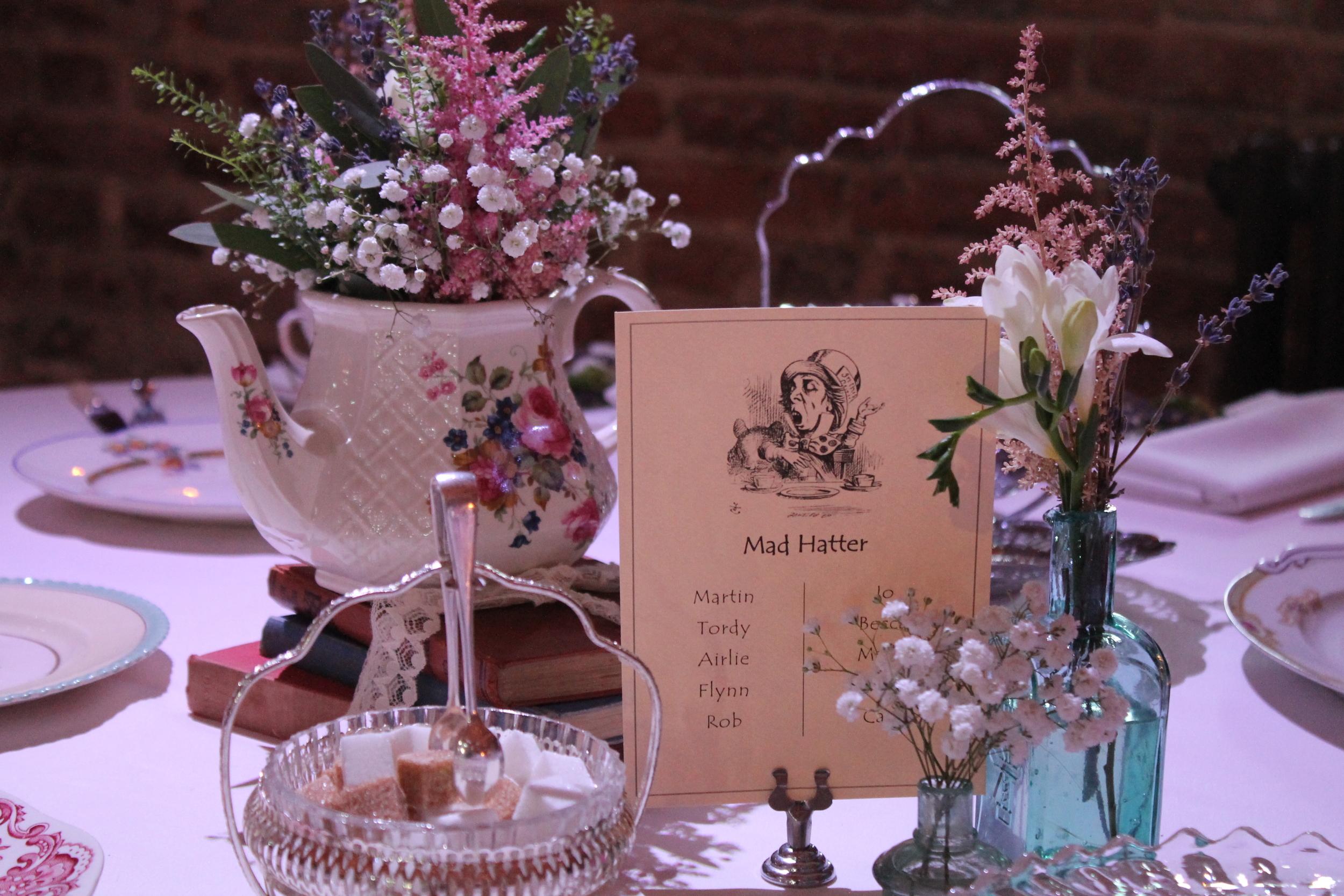 Wedding inspiration - centre pieces Alice in wonderland.jpg