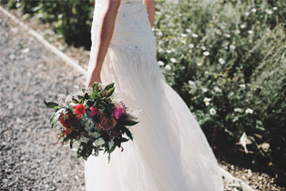 Wedding Bride Dried Flowers