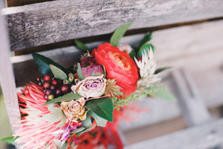 Events Dried Flowers Funeral Party