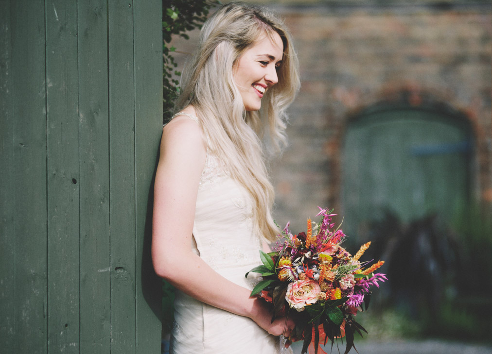 About Dried Flowers Bride