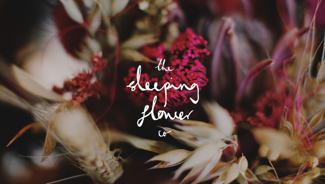The Sleeping Flower Company Look Book Logo
