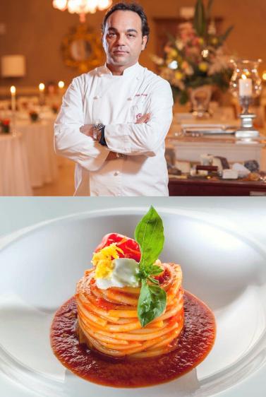 1 Michelin Star Chef Giuseppe D'Aquino