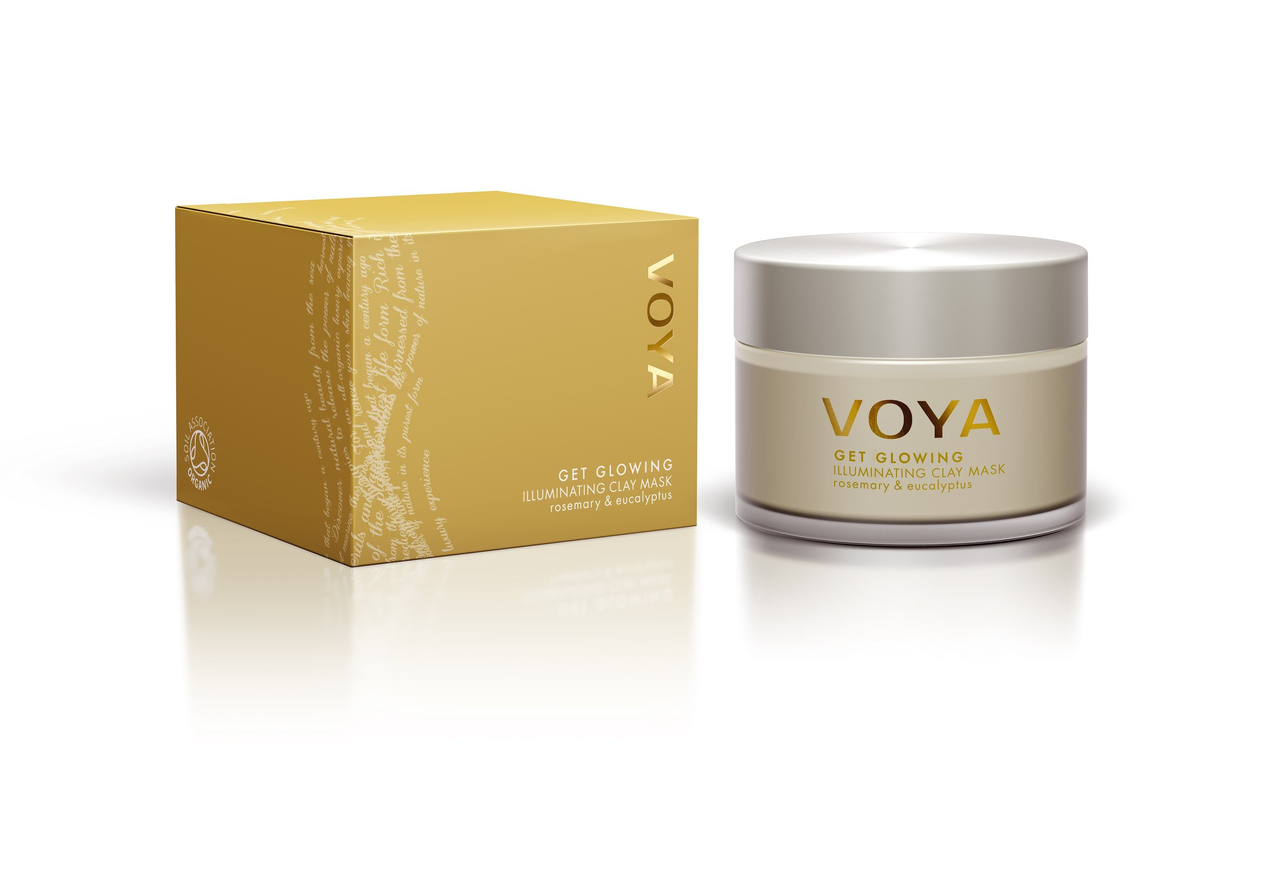 VOYA Get Glowing Illuminating Clay Mask