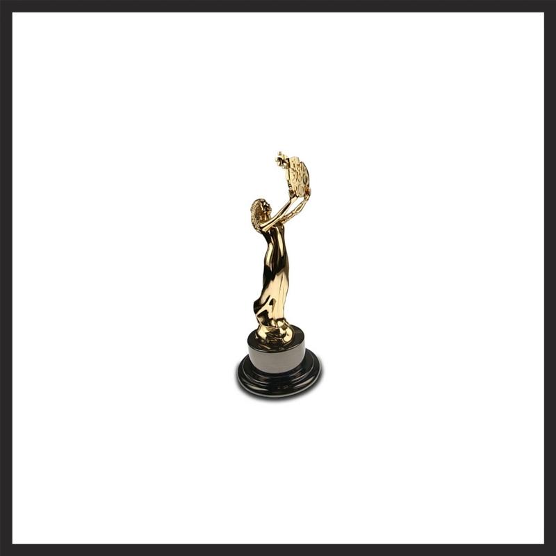 2012 Hermes Gold Statue