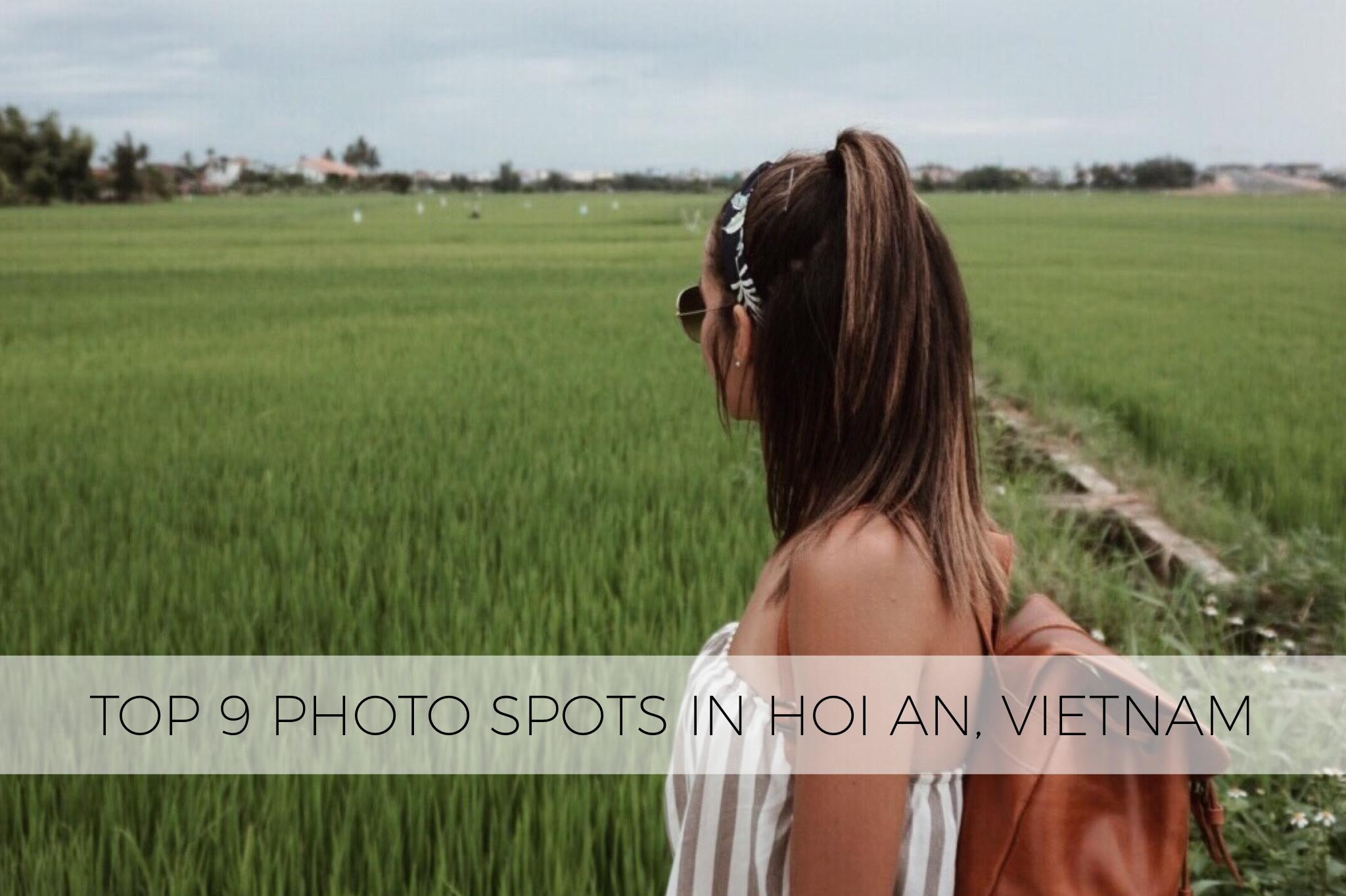 Top 9 Hoi An Photo Spots