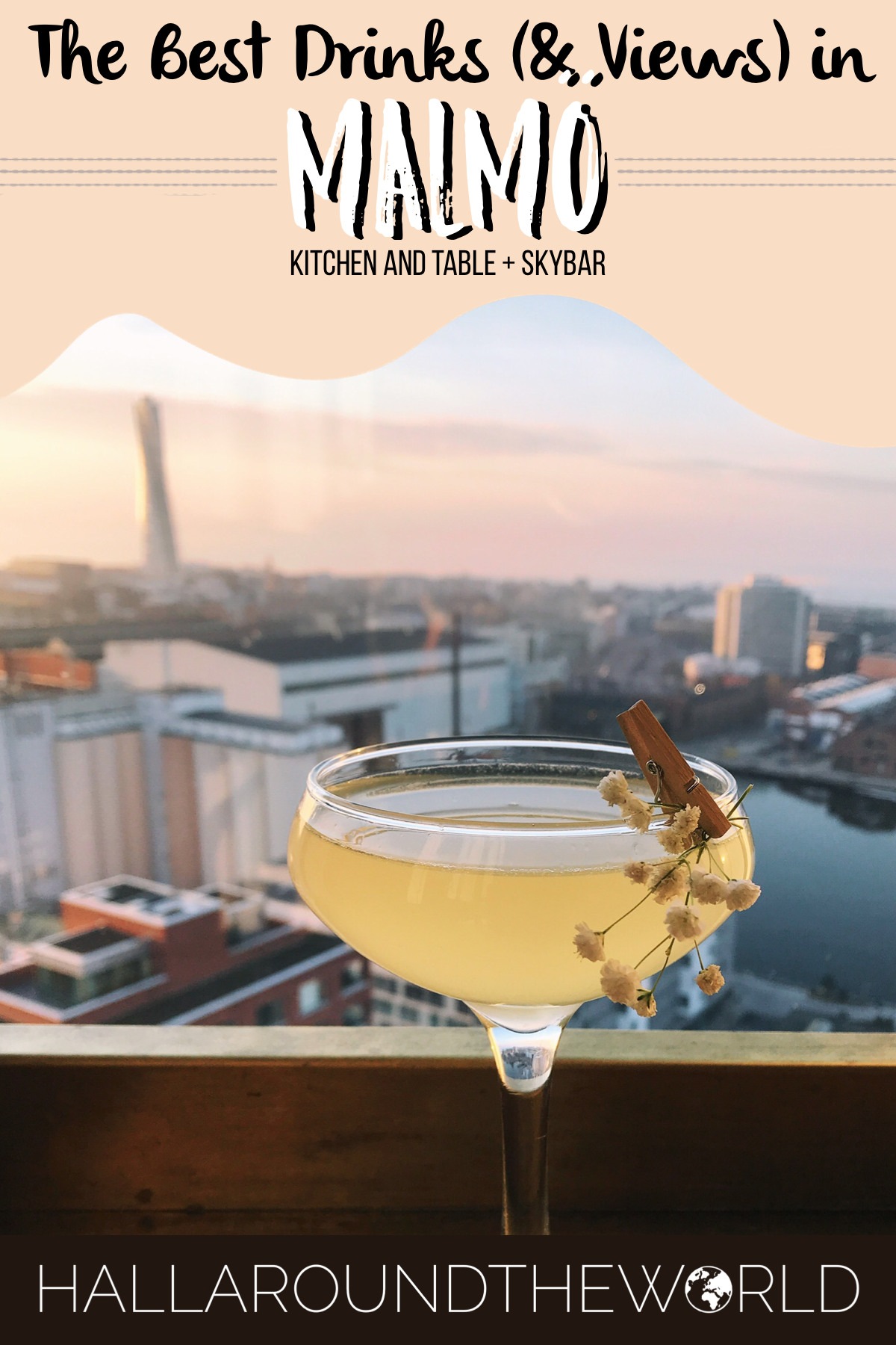 Date Night at Kitchen and Table + Malmö SkyBar | HallAroundtheWorld
