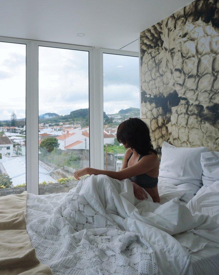Unique Airbnb in Ponta Delgada - Mirante Loft | HallAroundtheWorld