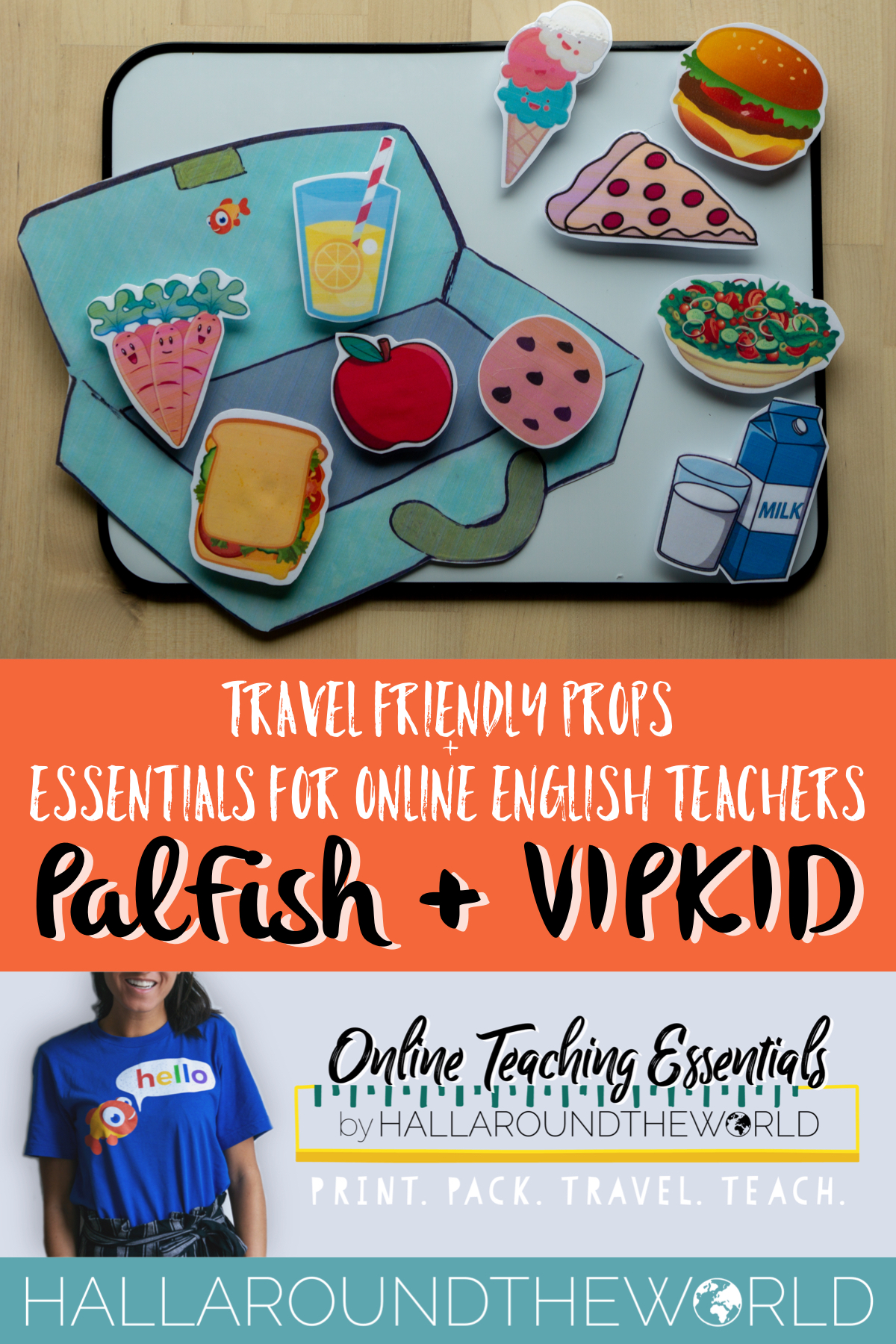 Travel Friendly PalFish Props + Other Essentials for Online English Teachers | HallAroundtheWorld