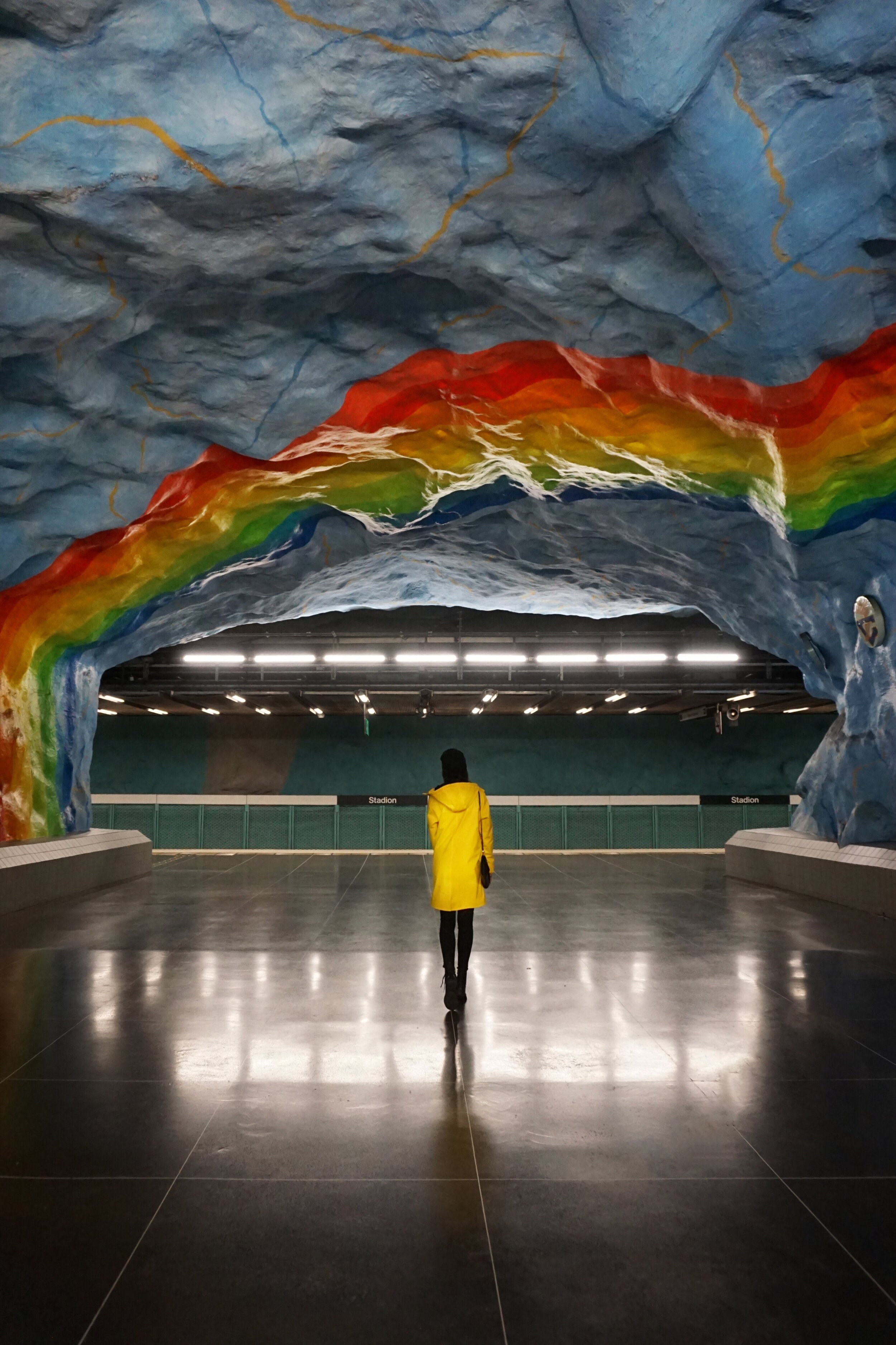 The Best Underground Art in Stockholm's Metro Stations + a FREE Map | by HallAroundtheWorld