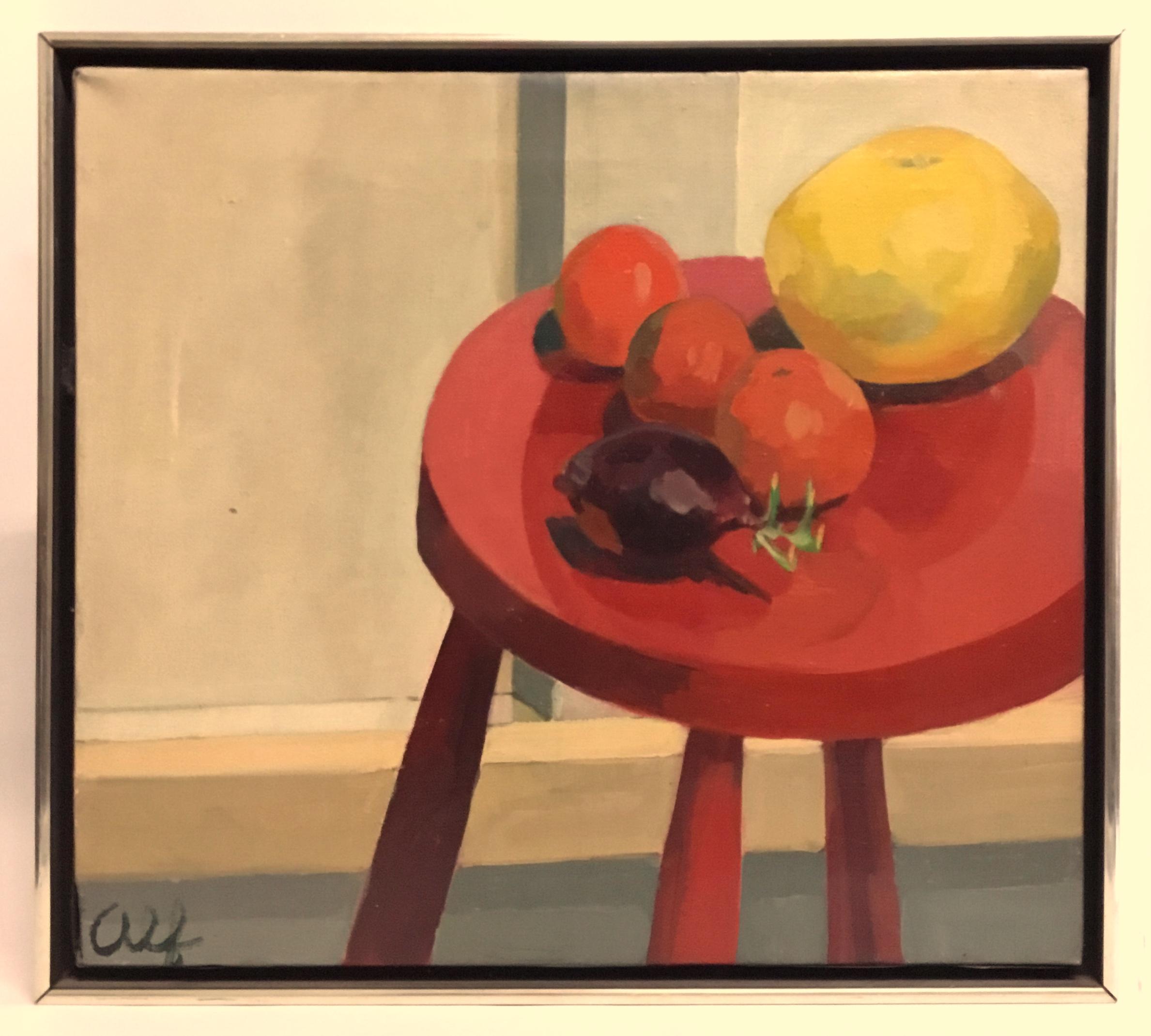 Still life oil on canvas by Alf Svenson