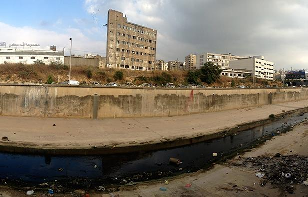 The Beirut River as of 2013. Image by Talal Khoury