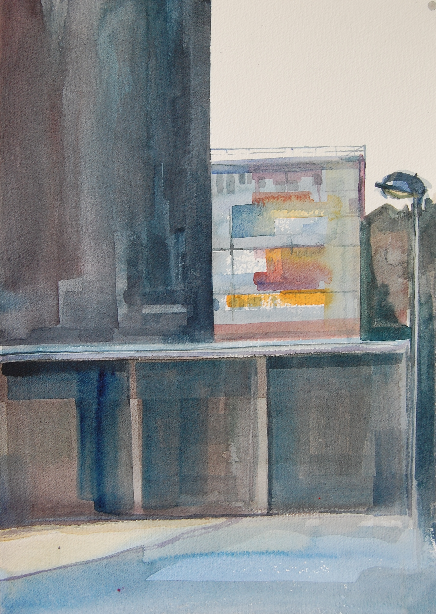 SCEAUX: watercolour on paper 2015
