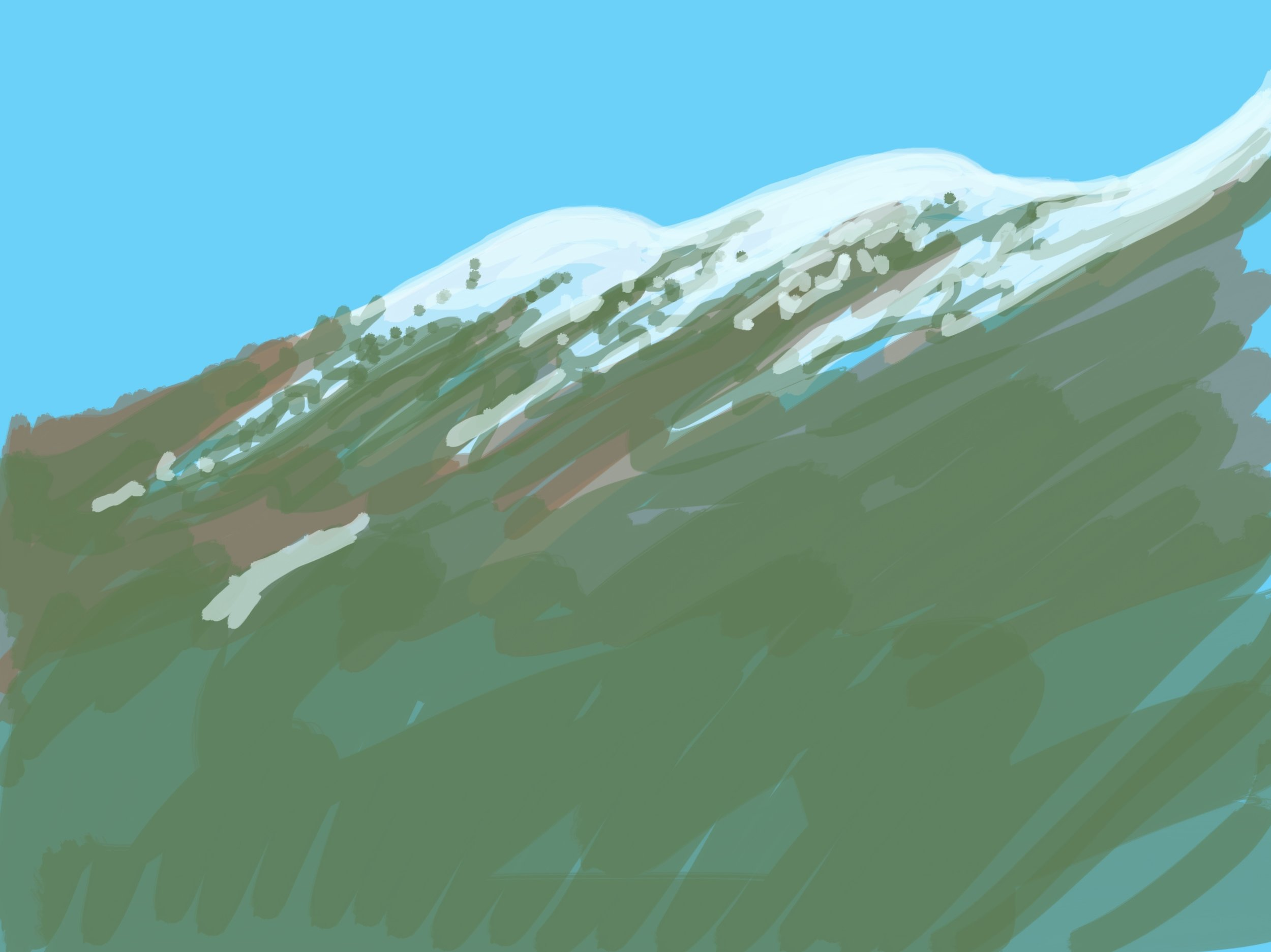 Aosta Peaks April '17