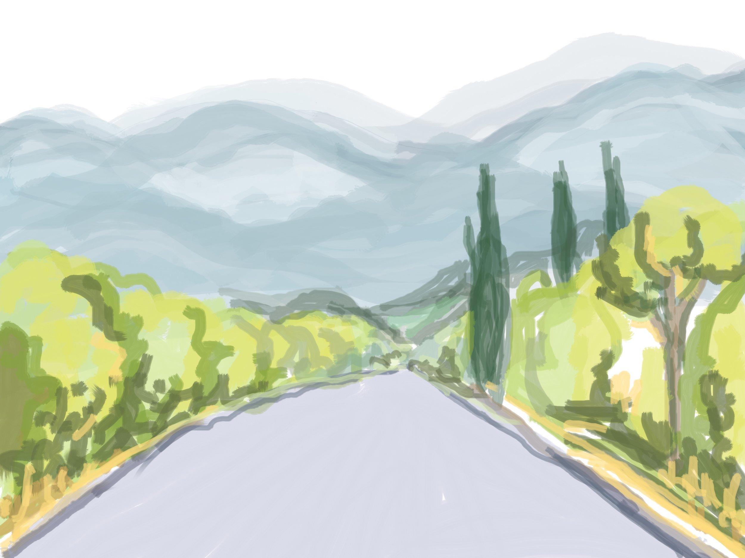 Italian Road August '17