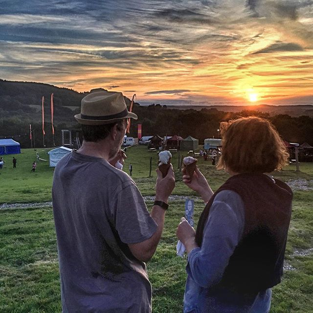 A beautiful end to the beginning of the #rivercottagefestival weekend. Does that even make sense? We think so. Excited to be involved. Thanks @rivercottagehq