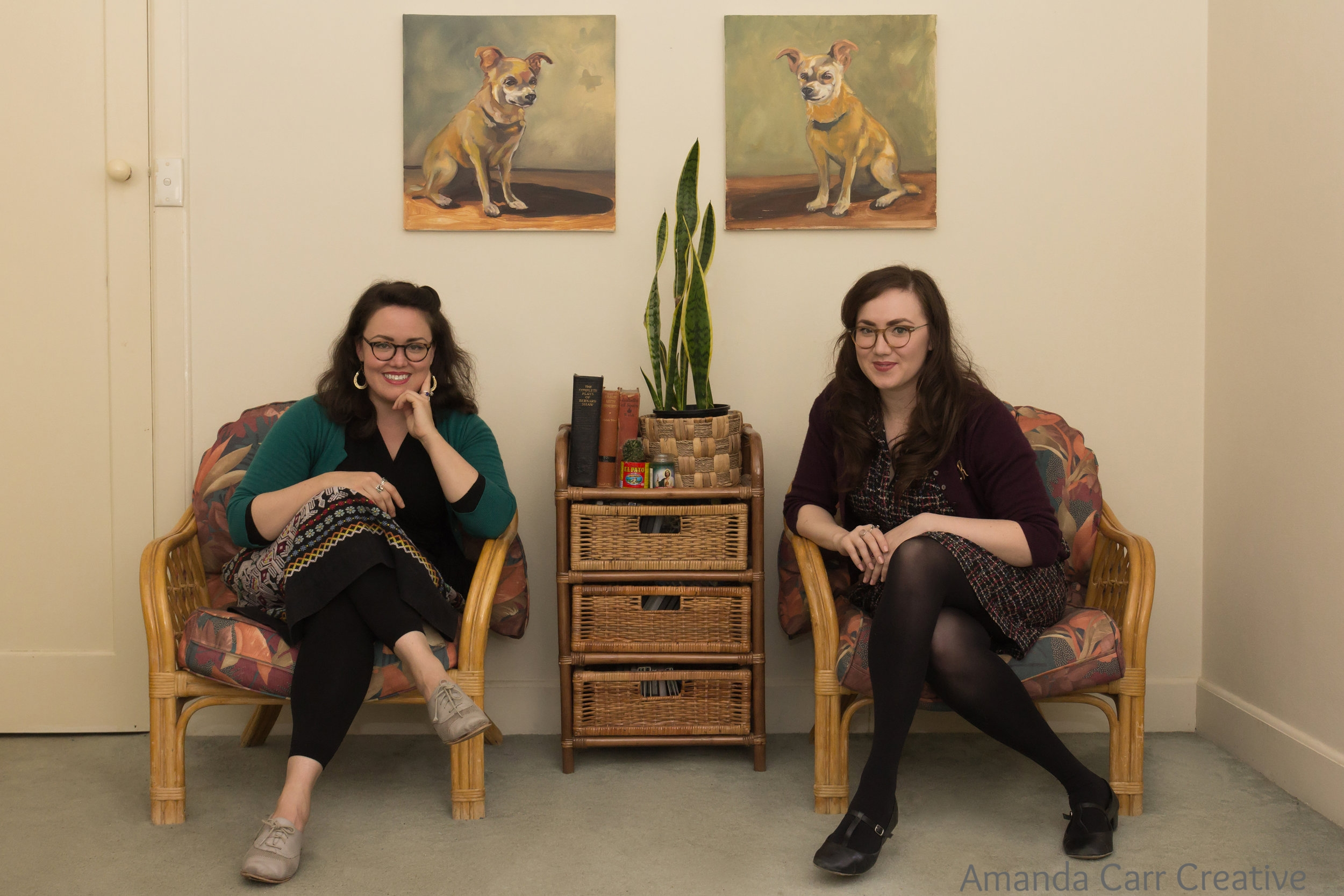 Editorial Portraiture - Esther and Rebecca Hayes