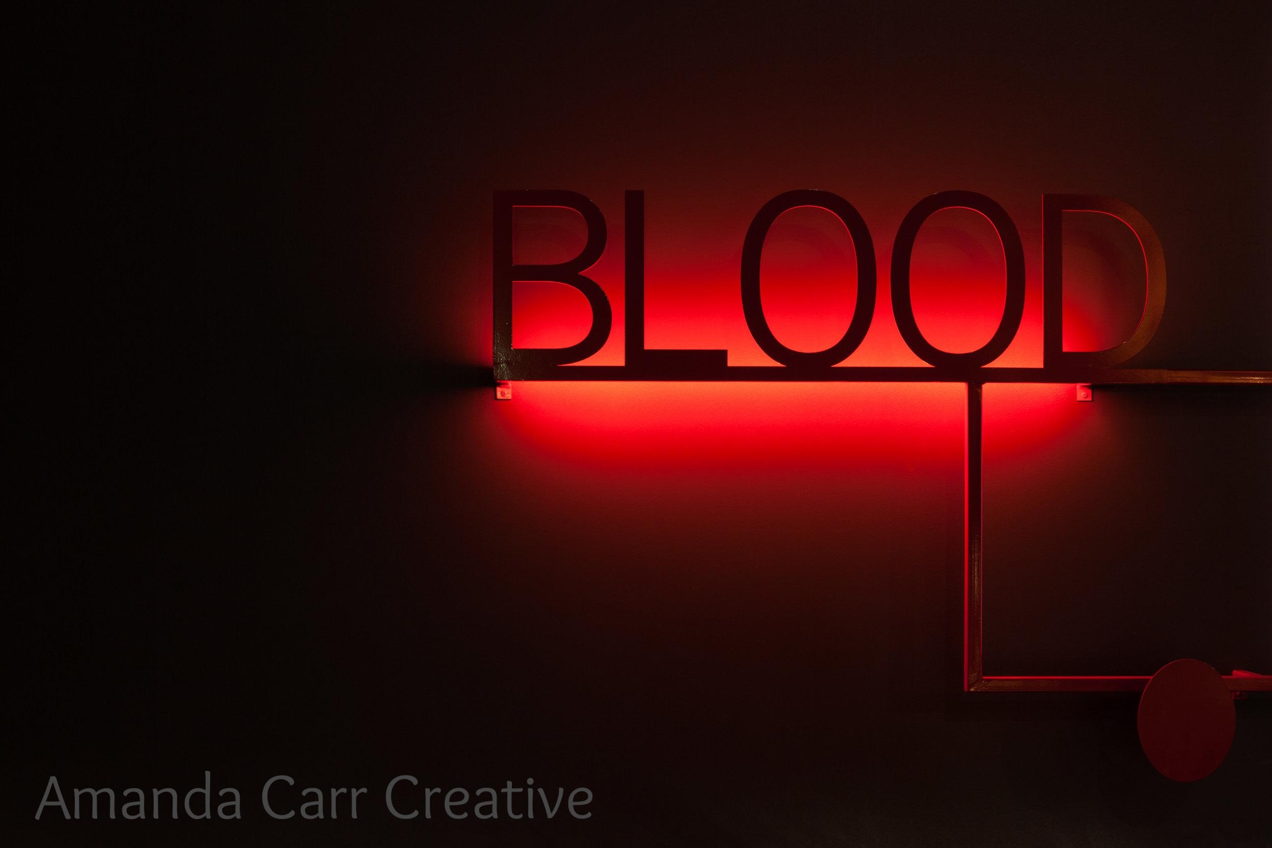 'Blood' @ University of Melbourne   Lighting Designer  NIklas Pajanti  http://www.niklaspajanti.com