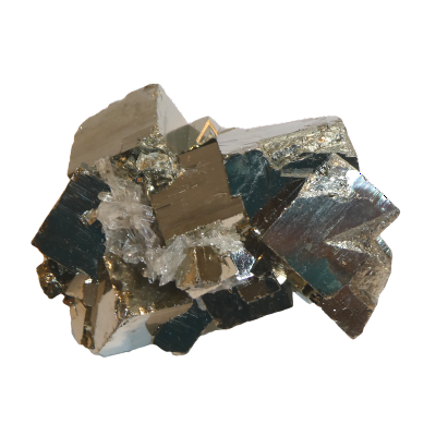 Pyrite - The glittering rock is commonly mistaken as real gold. It inspires creativity in many disciplines. It creates ambition and commitment. it is a protective stone that rebalances and gives energy to the spirit.