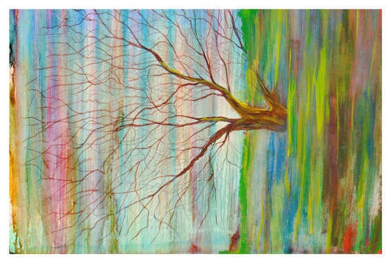 Abstract Tree Card