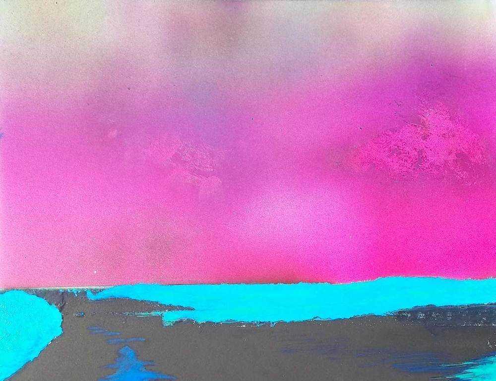 Untitled Neon Beach