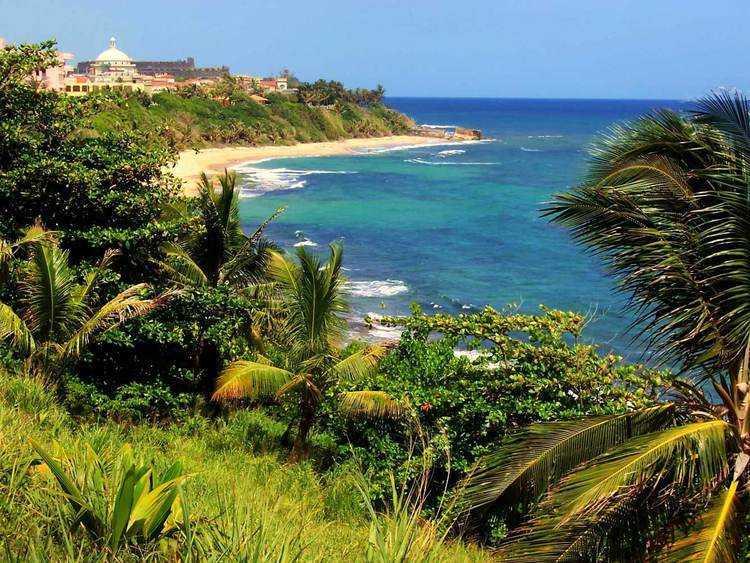 puerto rico desolate beache