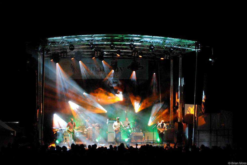moe. concert lighting
