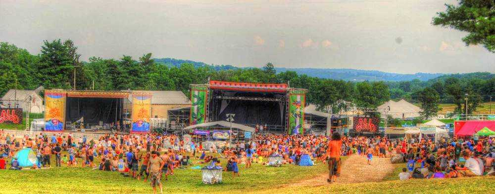 All Good Festival Panoramic Photo