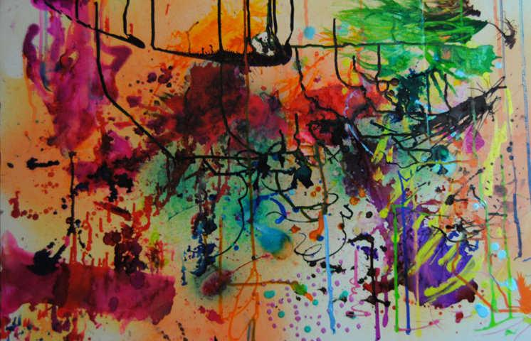richmond, virginia RAW collaborative painting