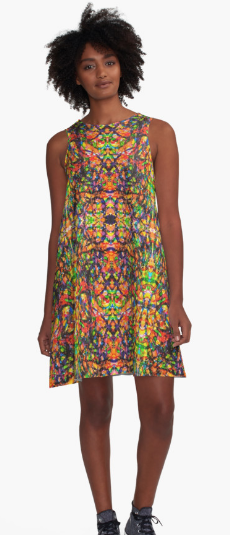 Abstract Hippie Art Dresses