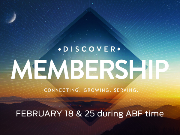 Sign up with the Church Office to let us know you are thinking of becoming a member. In order to become a member you must take this class, but you don't have to become a member after taking this class. It's a good thing to consider though!
