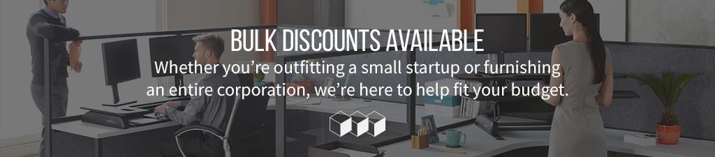 Standing Desks Bulk Discounts