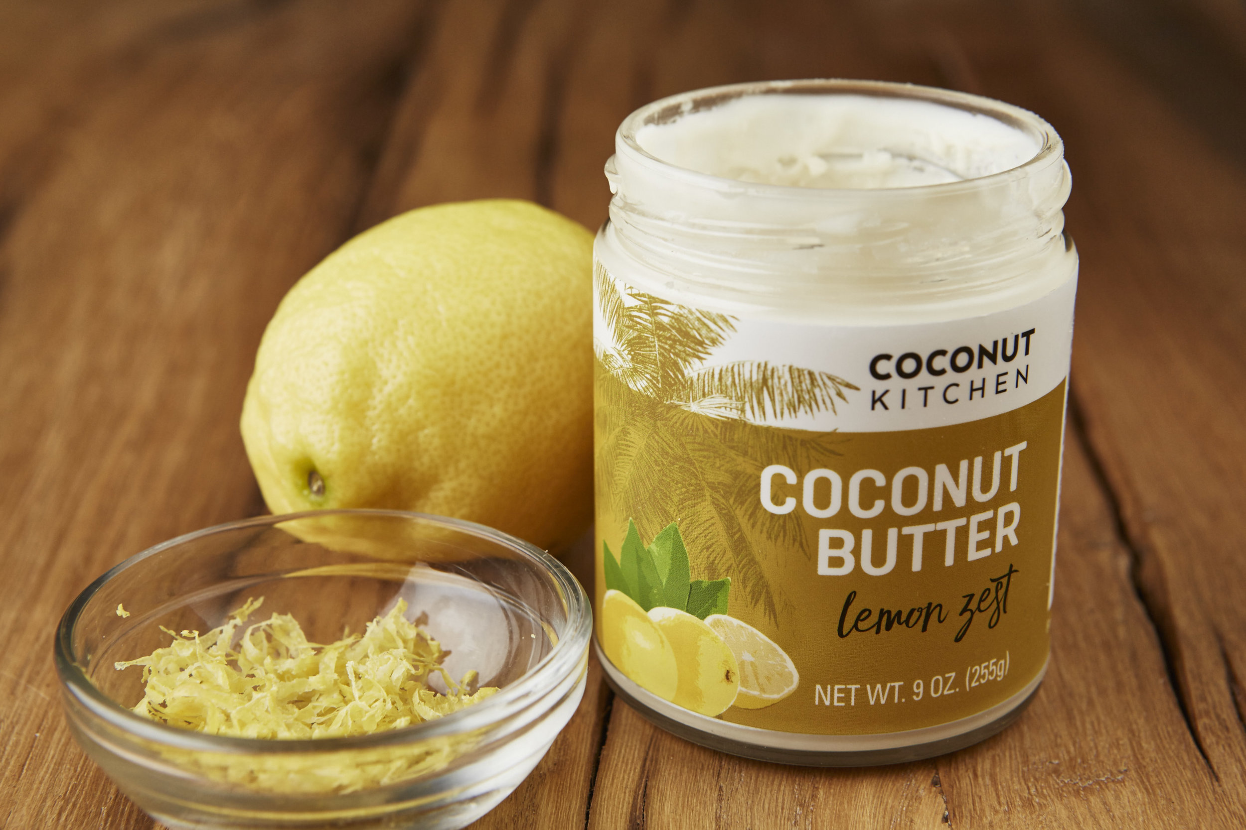 Lemon Zest coconut butter