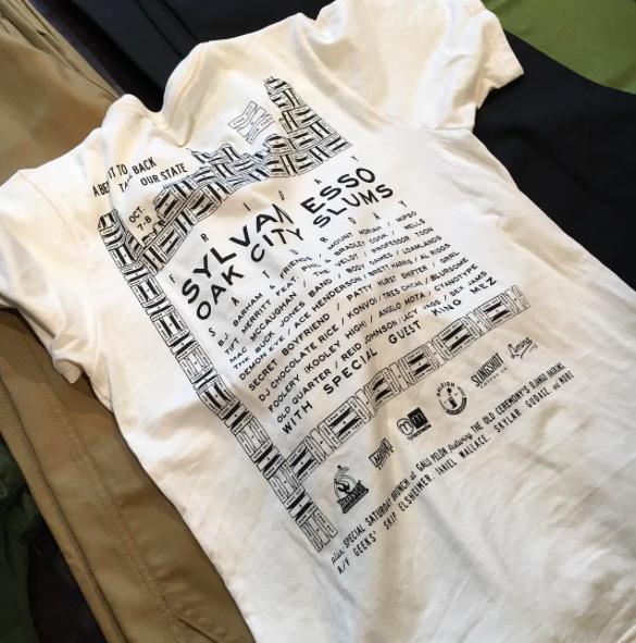 T-Shirts by Lumina designed, cut, and sewn in North Carolina.