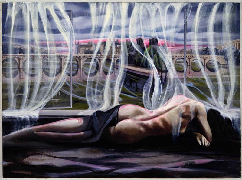 Oil on Canvas  50 x 68 Inches