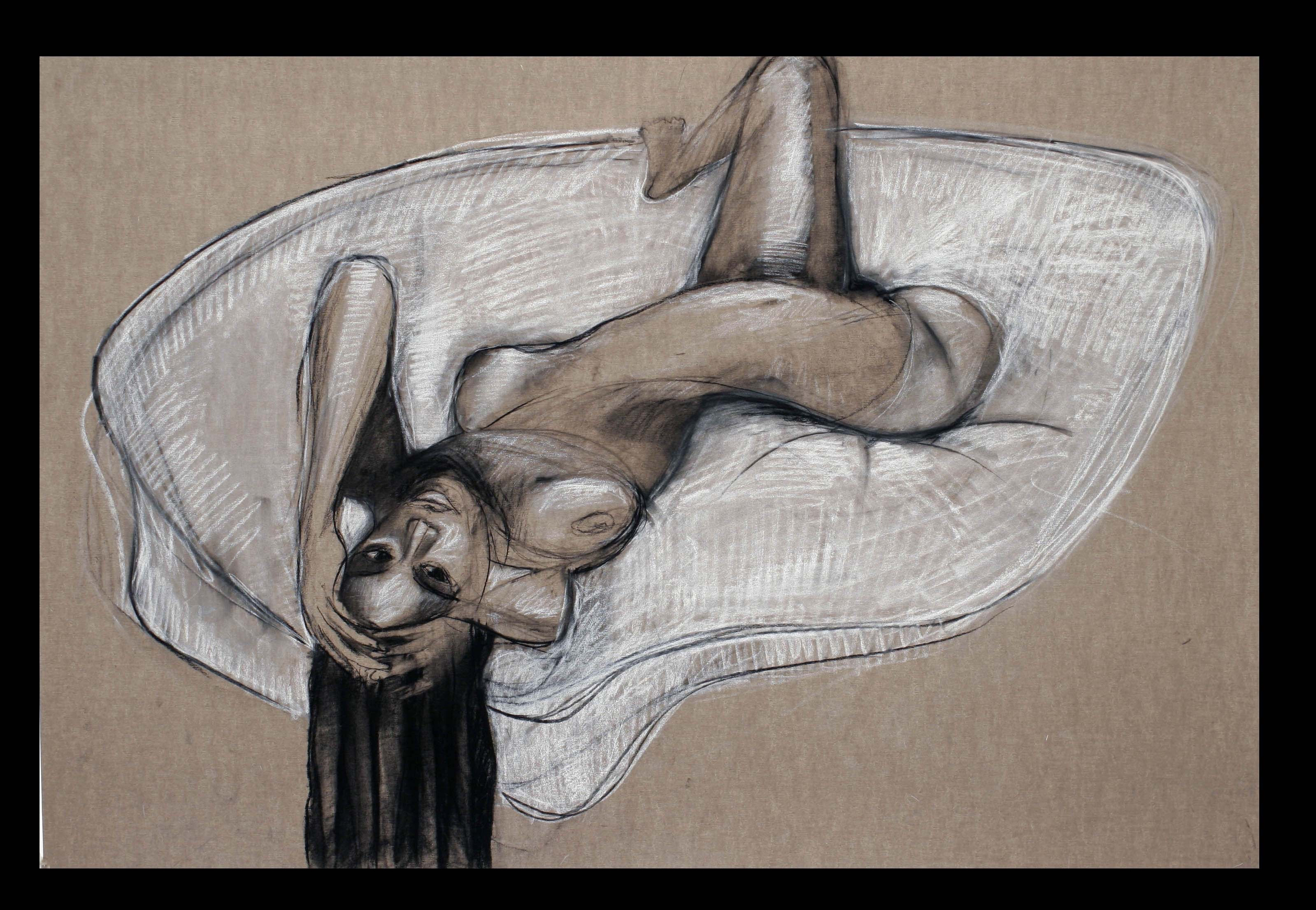 2010  Belgian sandpaper  22x30 Inches