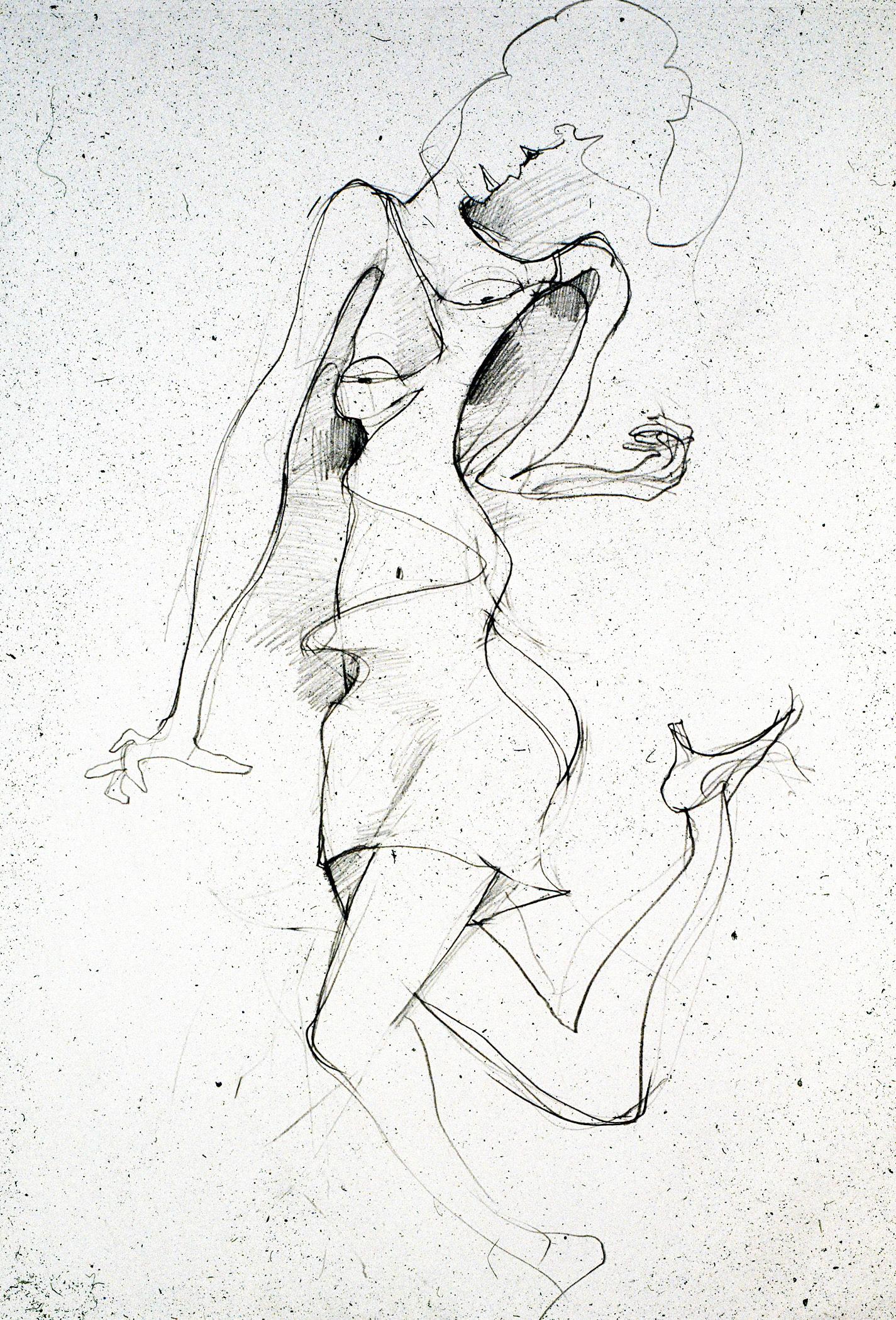 2005  Graphite on paper  24x18 in.