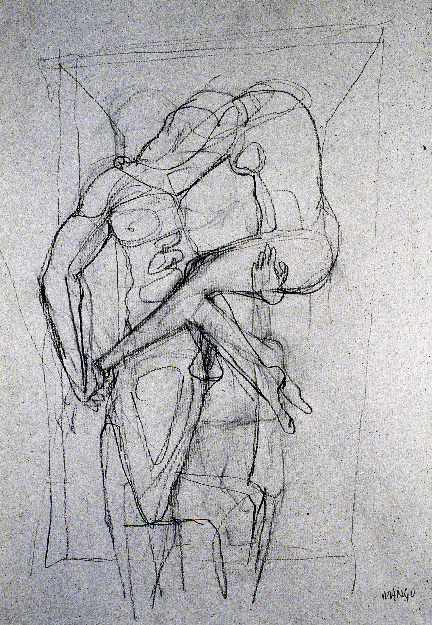 2007  Charcoal on paper  24x18 in.