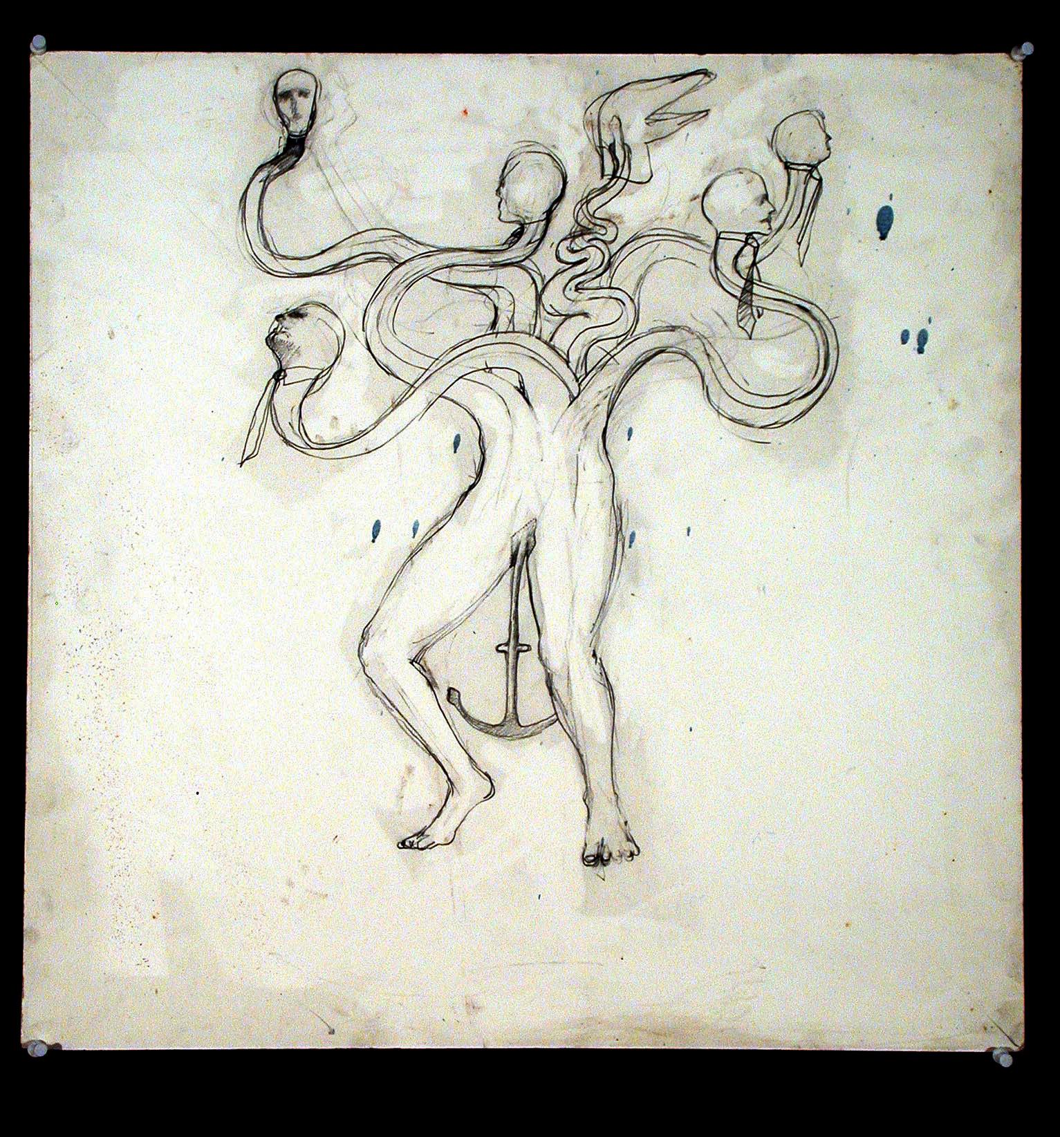 1979  Graphite on paper  20x18 in.