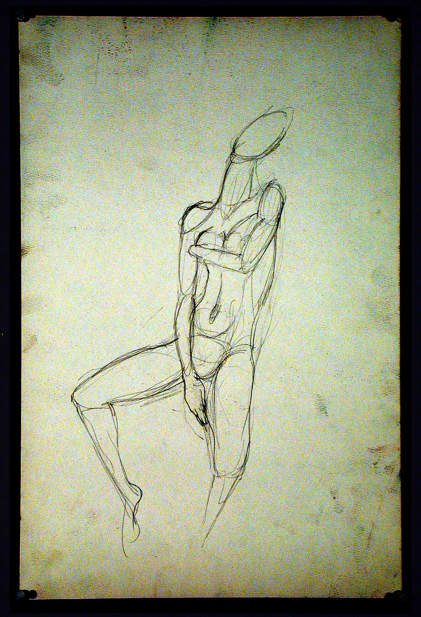 2002  Graphite on paper  24x18 in.