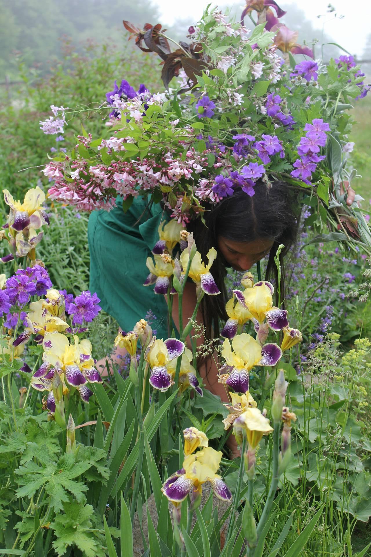 Halifax bouquet subscription / flower CSA 2018. Luxury hand-tied farm fresh flowers. Hedgerow Flower Company, a flower farm and florist, Nova Scotia, Canada.