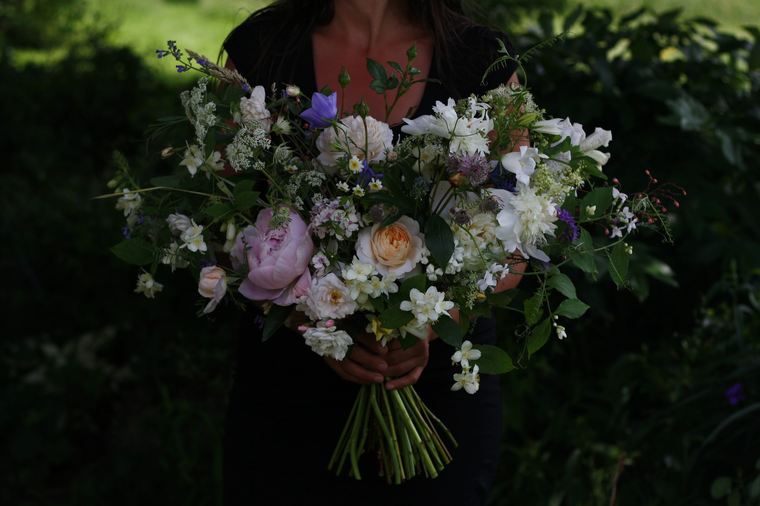 Hedgerow Flower Company's luxury wedding flowers, Halifax, Nova Scotia.
