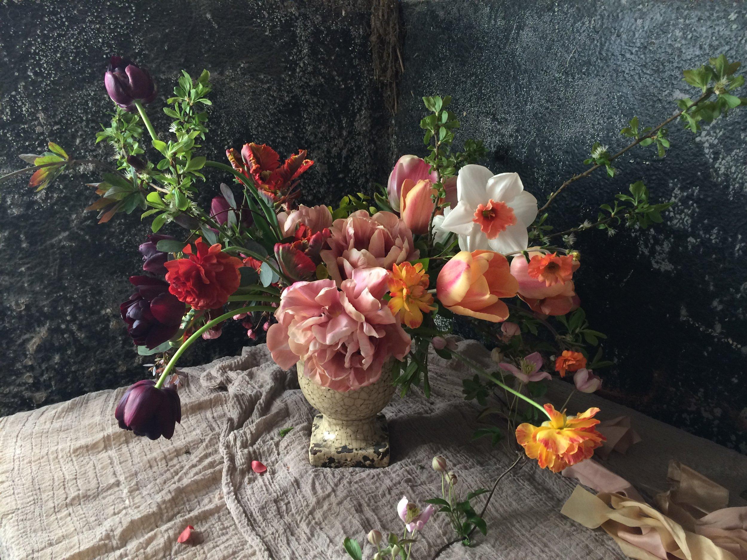 Wedding florist and flower farm, Nova Scotia.