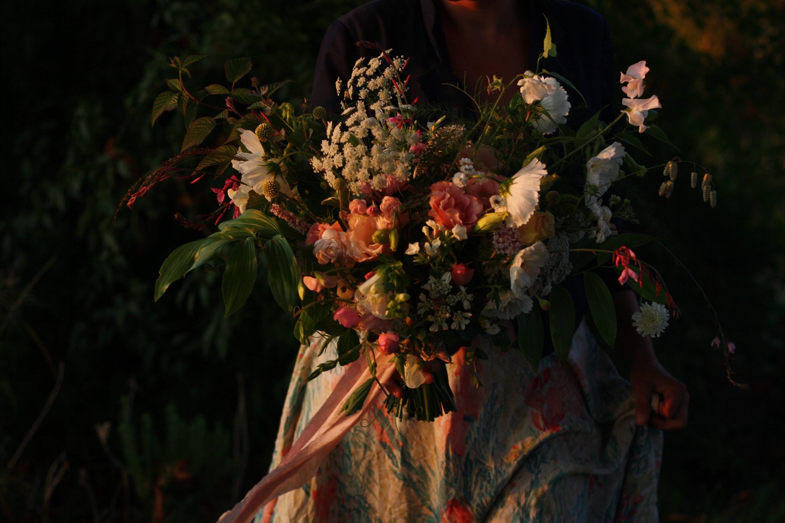 Wedding bouquet from Hedgerow. Halifax, Nova Scotia.