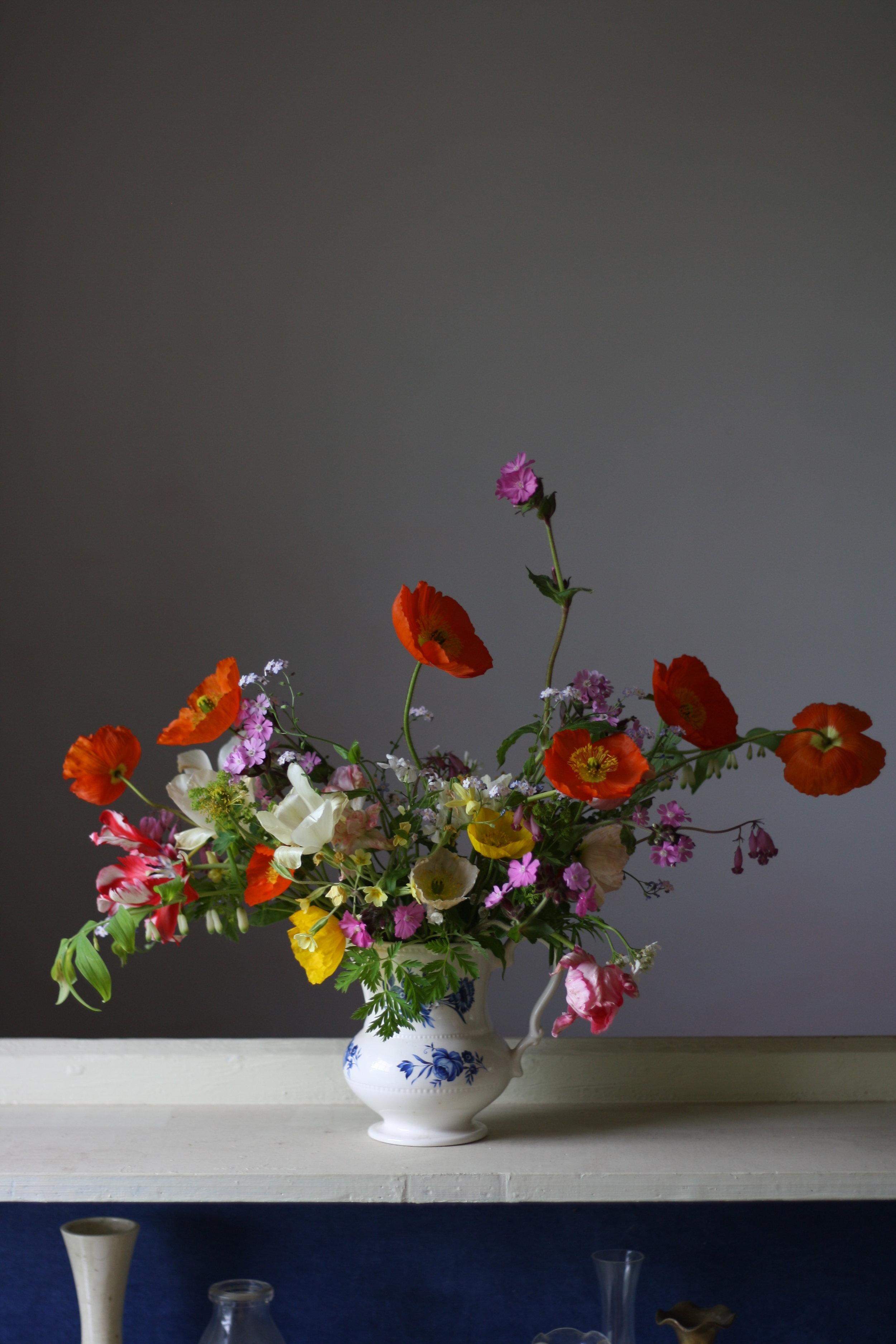 A springtime celebration at Hedgerow Flower Company, NS.