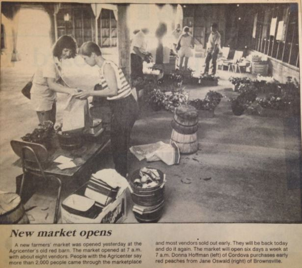 The Oswald family still sells six days a week under the name Peach World ( Commercial Appeal  6-3-1986).