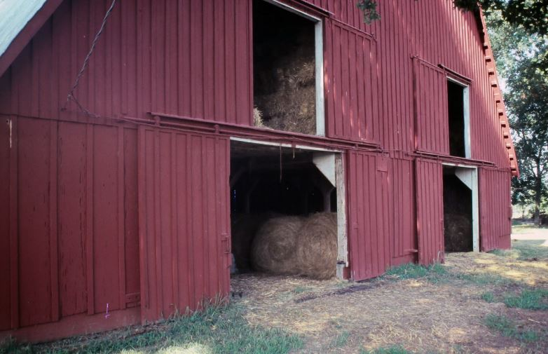 Red Barn, pre-1986.