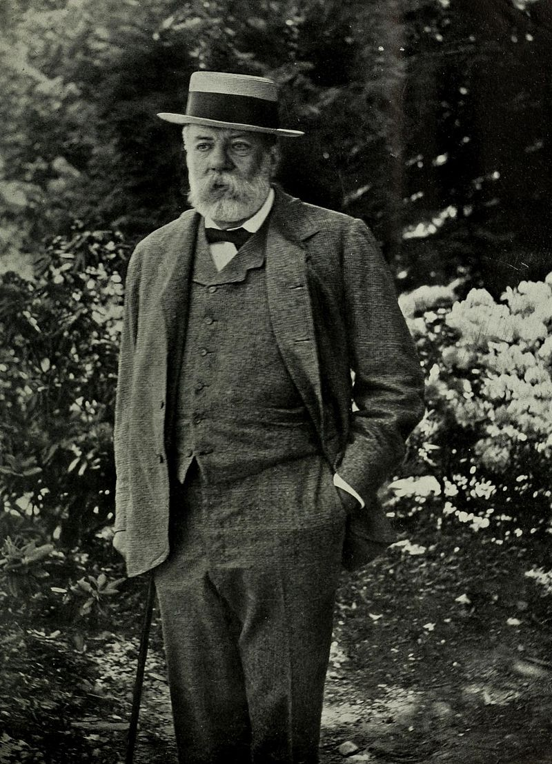 Charles Sargent,  Photo from The World's Work, 1901